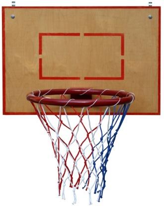 Щит баскетбольный навесной на стенку гимнастическую 700*700 мм. (оргстекло, фанера)