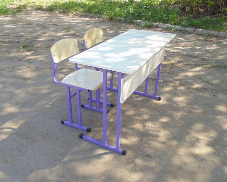 Комплект мебели 1200х500 нерегулируемый Усиленный (для средних спец. учреждений)