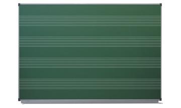 Доска Зеленая (мел): 1000*1500 (нотный стан)
