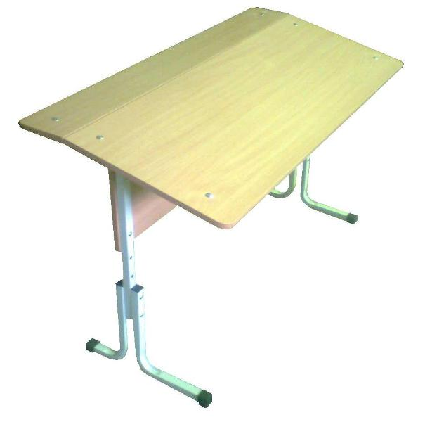 Стол 1-местный наклонный регулируемый №3-5, №4-6 гр.роста