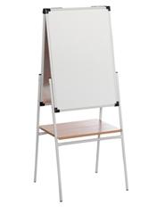 Мольберт Двухсторонний белый (маркер) 700х500х1450