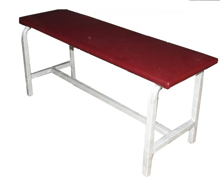 Скамейка с мягким сиденьем (иск.кожа) арт. ШК-44