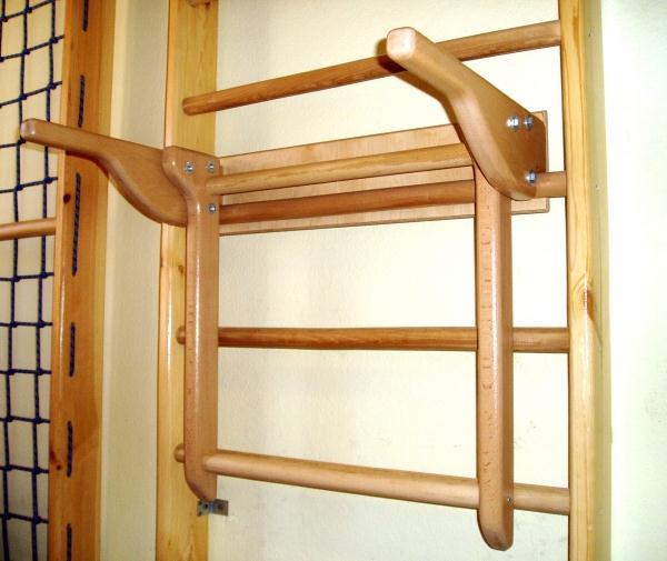 Брусья навесные для стенки гимнастической
