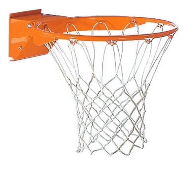 Кольцо баскетбольное амортизированное с сеткой