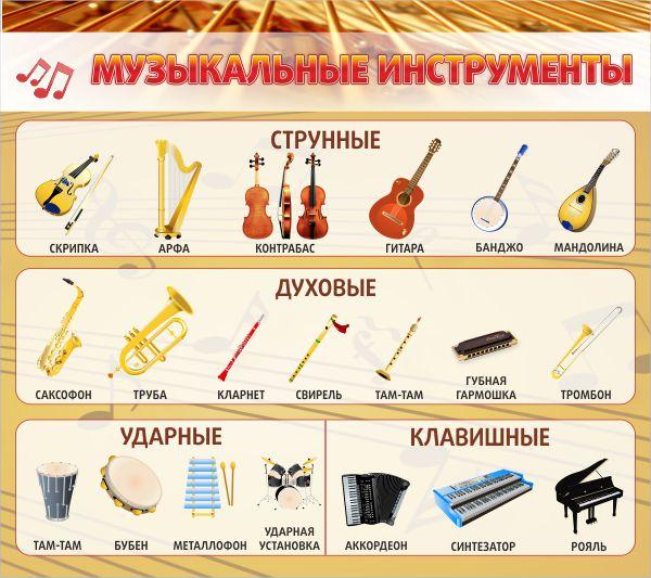 Детский сад музыкальные инструменты