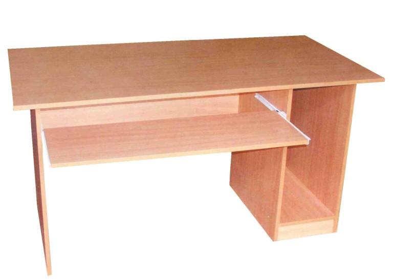 Стол компьютерный с нишей (ЛДСП) 1000х700х750; 1200х700х750