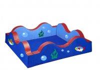 Бассейн квадратный разборный «Волна»