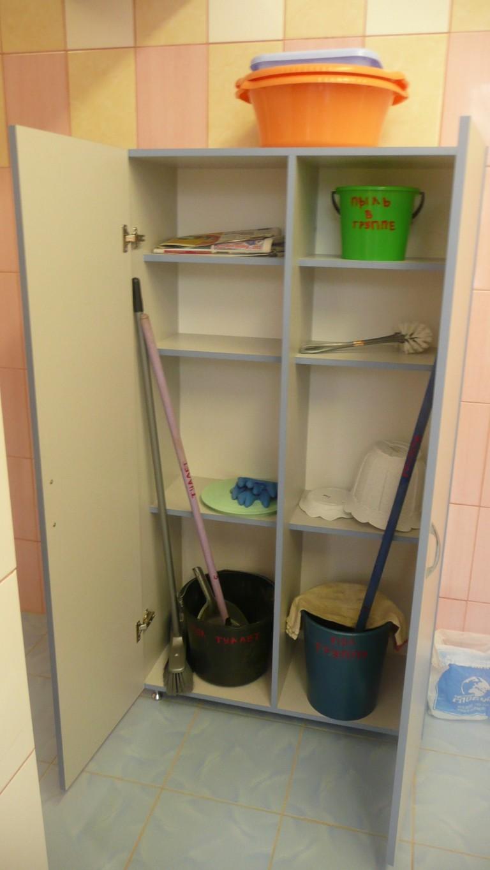 Шкаф для хозяйственного инвентаря (ЛДСП) 800х400х1600
