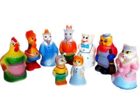 Резиновые игрушки (наборы)