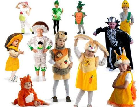 Карнавальные костюмы и костюмы для сюжетно-ролевых игр