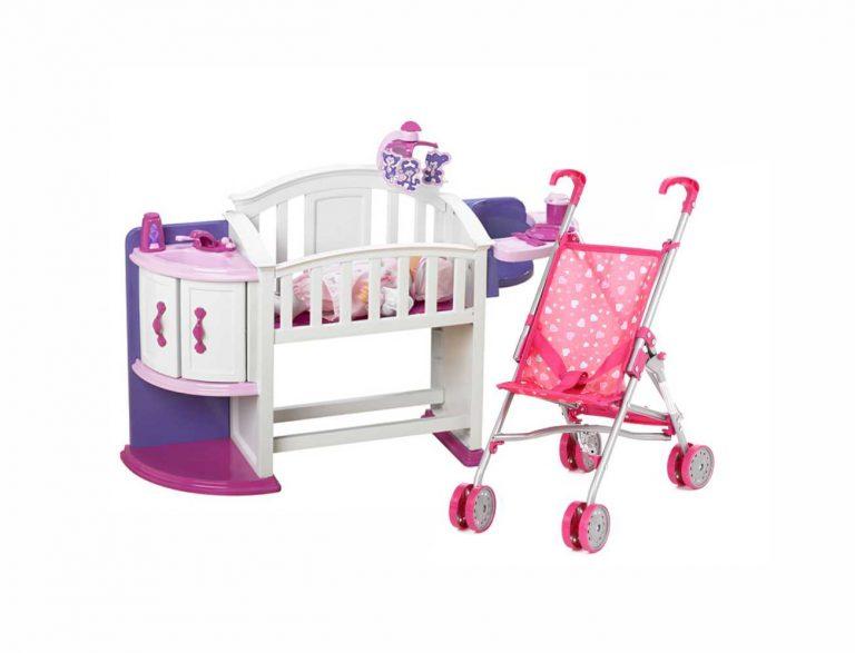Игровые наборы, коляски, мебель и аксессуары для кукол