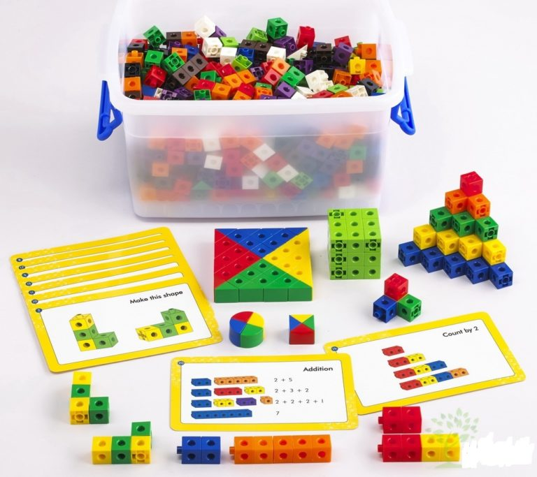 Набор соединяющихся кубиков