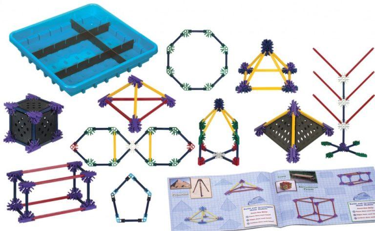 Конструктор образовательный K'NEX Education Основы математики и геометрии