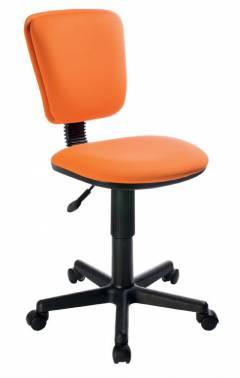 Кресло компьютерное с регулировкой угла наклона спинки (газлифт, ткань, иск.кожа)