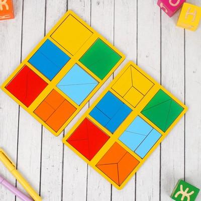 «Сложи квадрат» Б.П.Никитин, 1 уровень (мини)