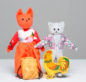 Шагающий театр «Кот, петух и лиса»