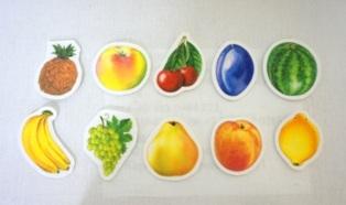 Набор фрукты-ягоды на липучках